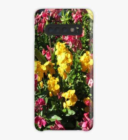 Flowerbed - Preston Temple Hülle & Klebefolie für Samsung Galaxy