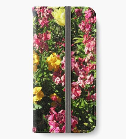 Flowerbed - Preston Temple iPhone Flip-Case