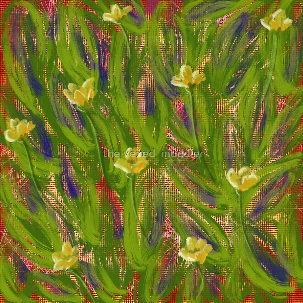 Dot matrix daffodils by the vexed  muddler