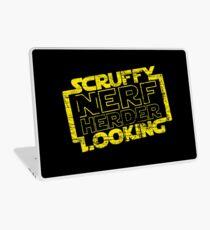 schmuddelig aussehender Nerf Hirte Laptop Skin