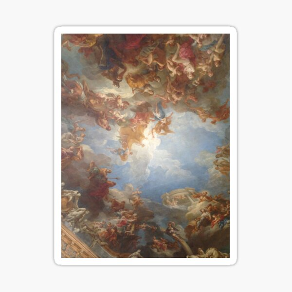 Versailles Ceiling Art Sticker