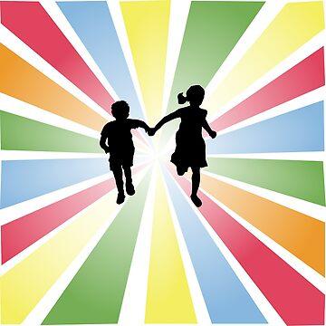 Happy Children by denip