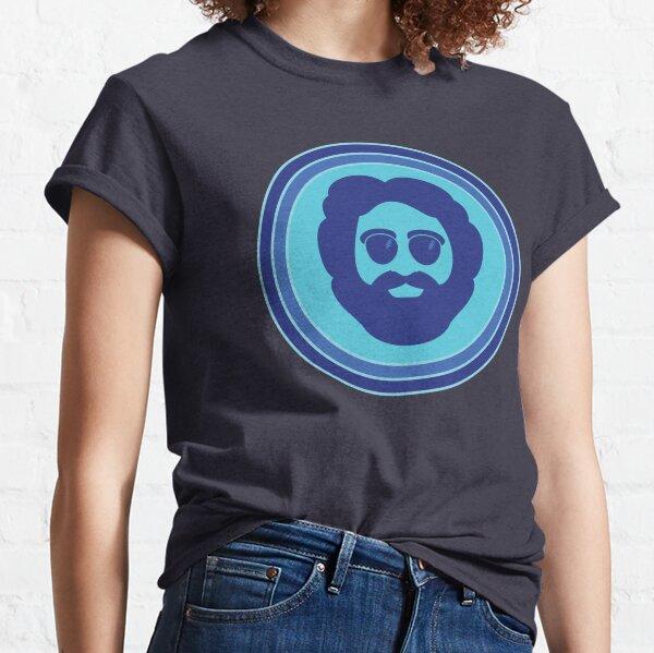 O Captain! My Captain! (Jerry Garcia / blue) Classic T-Shirt