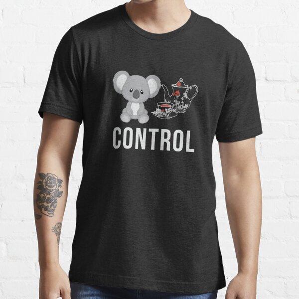 "Quality ""Koala Tea"" Control - Koala Pun Shirts Essential T-Shirt"