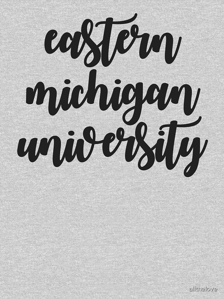 eastern michigan university by allthelove