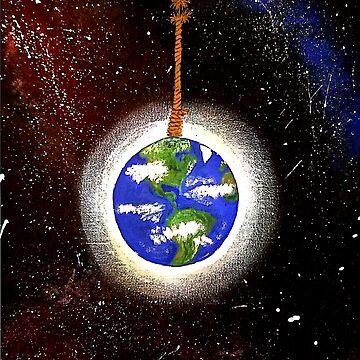 Precarious planet by Energykotash