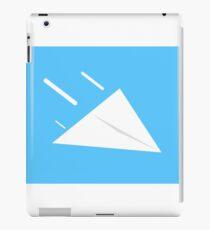 Flying Paper Airplane iPad Case/Skin