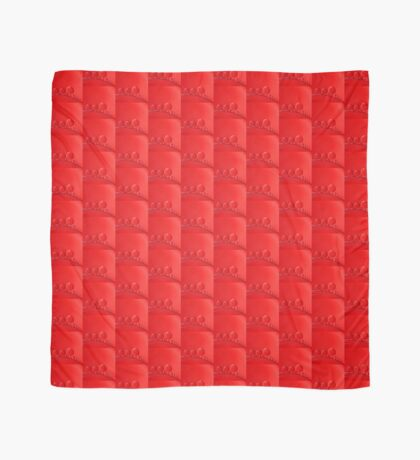 Red Bubbles Scarf