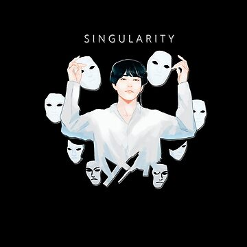 Kim Taehyung/V SINGULARITY Love Yourself: Tear (BTS) STICKER by Caroline-Wang