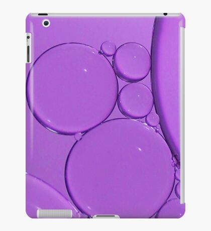 Purple Bubbles iPad Case/Skin