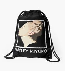 hayley kiyoko Drawstring Bag