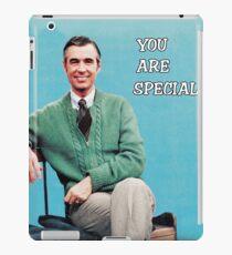 Sie sind etwas Besonderes - Herr Rogers iPad-Hülle & Klebefolie