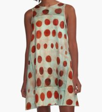 red spots A-Line Dress