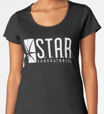 STAR Laboratories Shirt, S.T.A.R. Labs, STAR Labs Shirt, TV Series, Vintage Distressed Unisex Shirt Women's Premium T-Shirt