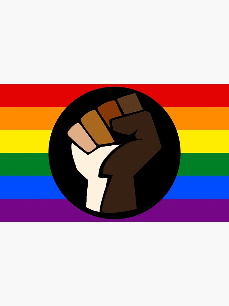 Intersectional Pride Flag by dru1138