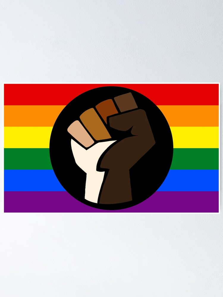 Alternate view of Intersectional Pride Flag Poster