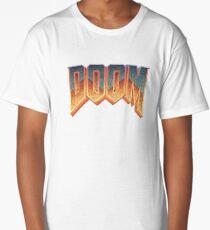 Doom - RETRO LOGO - Long T-Shirt