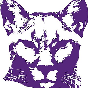 Purple cougar by MeowMusic