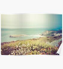 Pacific Coast California Poster