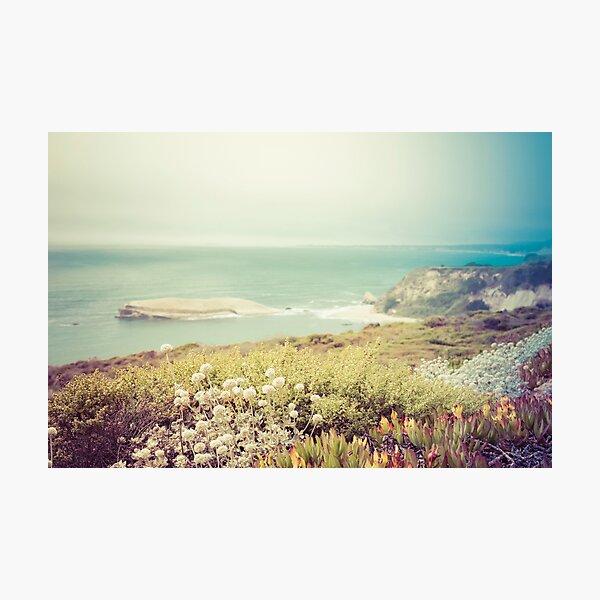 Pacific Coast California Photographic Print