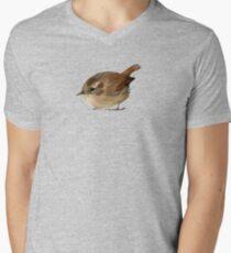 Bird: Wren Men's V-Neck T-Shirt