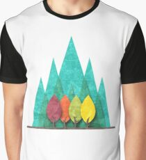Minimalist landscape Graphic T-Shirt