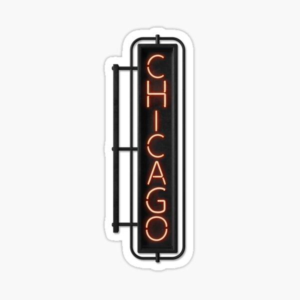 Chicago NEON [Musical] Sticker