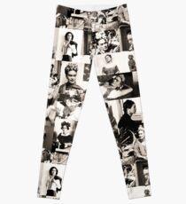 Legging Patrón de Frida Kahlo