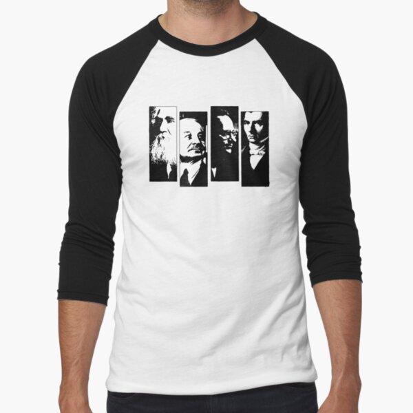 The FADEN - Libertarian Punk Market Anarchism Baseball ¾ Sleeve T-Shirt
