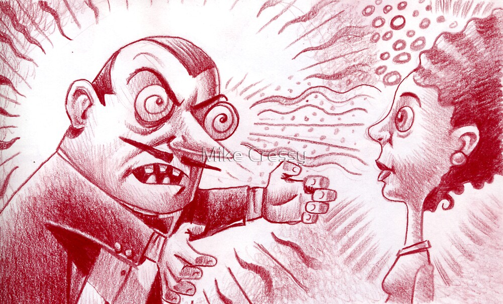 You are now hypnotized madam! by Mike Cressy