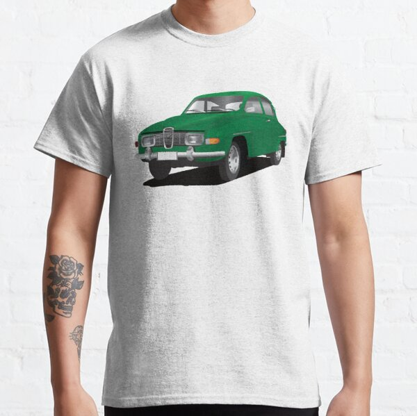 SAAB 96 green Classic T-Shirt
