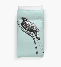 Long tailed blue bird 4 Duvet Cover