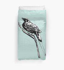 Long tailed blue bird 4 Duvet Cover