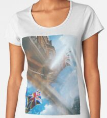 Union Jack, refracted. Women's Premium T-Shirt