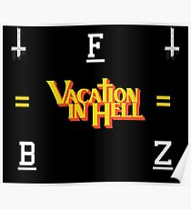 Vacation in Hell - Flatbush Zombies Poster