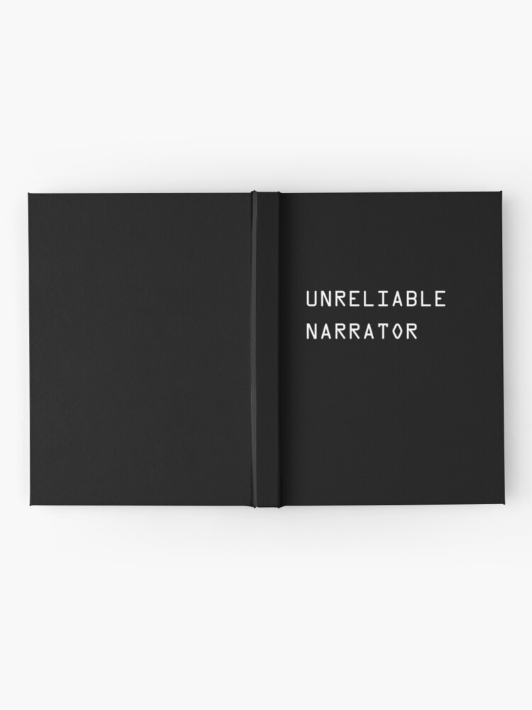 Alternate view of Unreliable Narrator Hardcover Journal