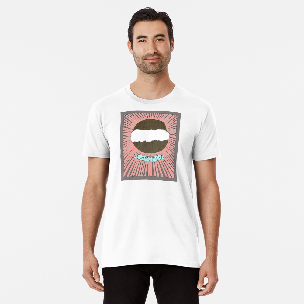 Whoopie!  Whoopie pies on Peach Premium T-Shirt