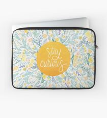 Stay Curious – Yellow & Green Laptoptasche