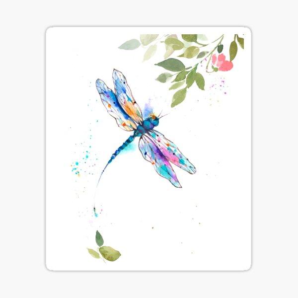 Dragonfly II.0II Sticker