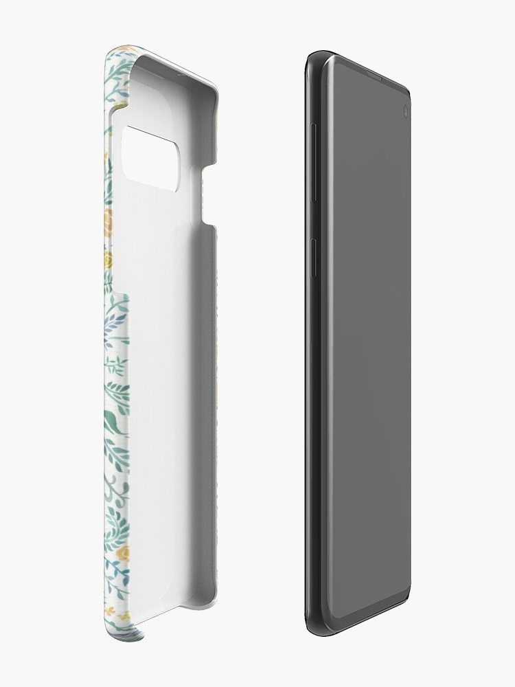 Alternate view of Stay Curious – Yellow & Green Case & Skin for Samsung Galaxy
