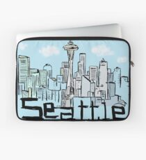 Seattle city Laptop Sleeve
