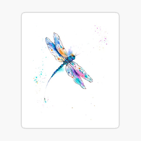 Dragonfly II.0I  Sticker