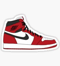 Jordan 1 Chicago  Sticker