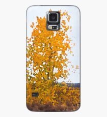 Lonely Cottonwood in Fall  Case/Skin for Samsung Galaxy