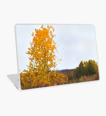 Lonely Cottonwood in Fall  Laptop Skin