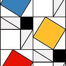 Mondrian meets Pythagoras  & Fibonacci by Gianni A. Sarcone