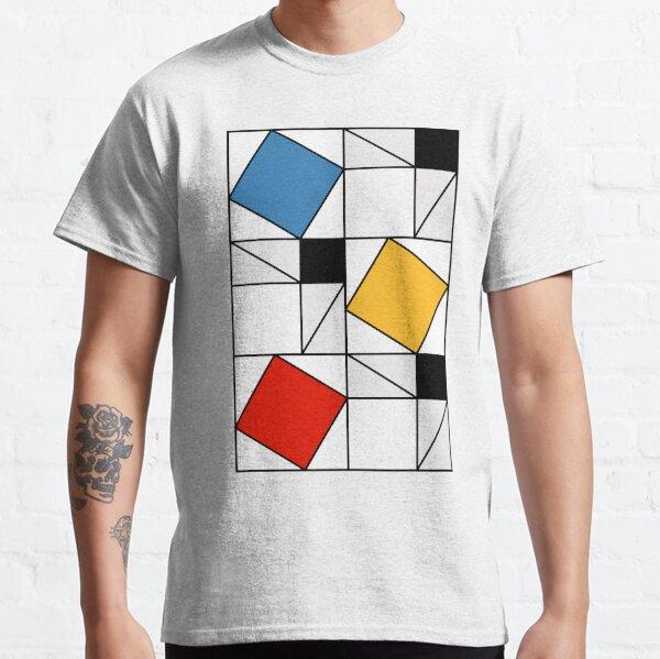Mondrian meets Pythagoras  & Fibonacci Classic T-Shirt