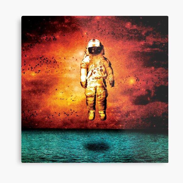 Deja Entendu Album Cover Metal Print