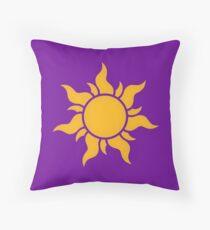 Tangled Kingdom Sun Throw Pillow