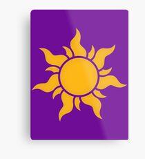Tangled Kingdom Sun Metal Print